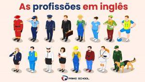 Conheça as profissões em inglês mais comuns